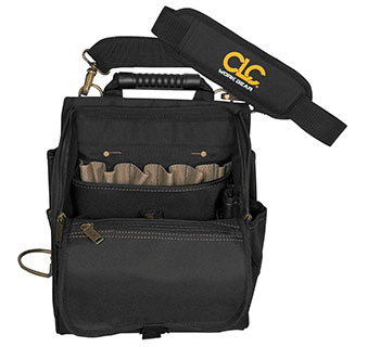 CLC Custom Leathercraft 1509 Zippered 21 Pocket