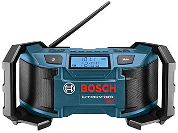 120V Compact AM/FM Radio (Bosch)
