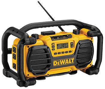 DEWALT Ultra Rugged 7.2V-18V Jobsite Radio