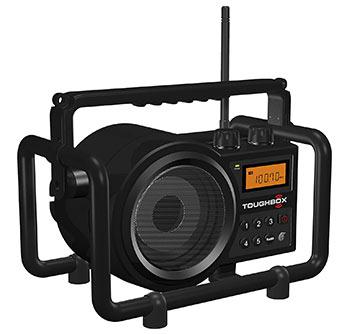 Sangean TB-100 Toughbox Rechargeable Garage Radio